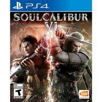 Soul Calibur VI (Sony PlayStation 4, 2018) Brand New Factory Sealed