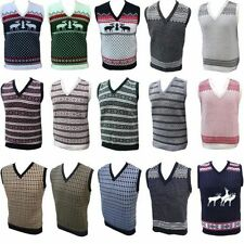 Christmas V Neck Jumpers & Cardigans for Men
