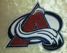 "Colorado Avalanche NHL Logo 3.5"" Iron On Embroidered Patch ~USA Seller~"