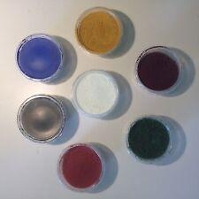 Farbpulver Pigment Test-Set 7 x 50 g Farben f. Gips Putz Beton Dispersionsfarbe