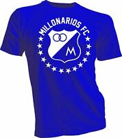 Millonarios Futbol Club Colombia Futbol Soccer T Shirt Camiseta Postobon Millos
