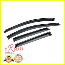 FOR 2008-2013 NISSAN ROGUE SMOKED WINDOW VISOR SUN WIND DEFLECTOR RAIN SHADE 4PC