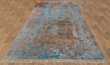 9x12 Designer Handknotted Rug Wool & Silk Rug with Free Shipping ..#4041