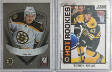 2012-13 Score / Elite 131/999 2 Card Lot Torey Krug-Boston Bruins Rookie RC