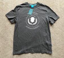 """Kings Apparel """"Reign Supreme"""" T-shirt. Taille L (38""""). Gris. 100% coton. RRP £ 27."""