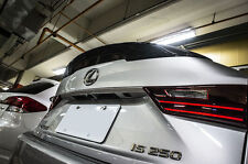 Carbon Fiber Lexus IS250 IS350 P Style Rear Trunk Spoiler Wing 14-16 HIGH KICK
