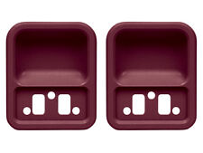 New 1968-69 Ford Finger Cups Door Handle Fairlane Galaxie 68-72 F100 Ford Red
