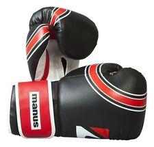 """Boxhandschuh manus """"Standard"""" in schwarz oder weiß. Kickboxen, Boxen, Muay Thai"""