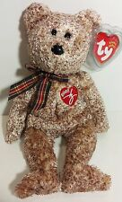 "TY Beanie Babies ""2002 SIGNATURE BEAR"" Teddy - MWMTs! RETIRED! PERFECT GIFT! NEW"