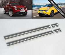 Nissan Juke Stainless Steel Sill Protectors / Kick Plates