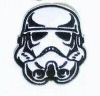 """Storm Trooper Patch Star Wars Embroidered Iron On Applique 2.50""""X 2.50"""" Yoda BB8"""
