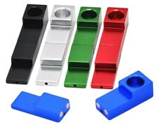 Portable Smoking Pipe WITH SCREEN Magnetic AluminumTobacco Accessories Discreet