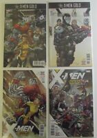X-MEN GOLD 7 8 9 11 Lot Four NM XMEN Marvel Comic books