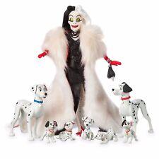 Cruella De Vil and Dalmatians Doll Set Limited 6000 ONLY