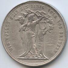 GX194 - Österreich Schützenmedaille Feintaler 1868 Wien Deutsch. Bundesschießen