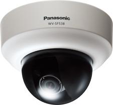 Panasonic WV-SF538 Super Dynamic Full HD Dome Network/IP Camera