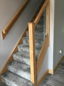 Oak Staircase Stringer Cladding System - Select the required Qty