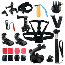 22 in 1 Accessories Kit for GoPro Hero 2 3+ 4 Sj4000 Action Camera Replacement