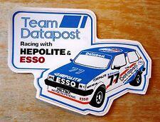 MG Metro Team Datapost Hepolite Esso Racing Motorsport Sticker Decal
