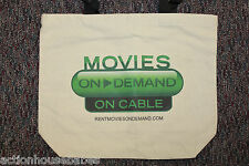 Movies ON DEMAND - ON CABLE - PROMO TOTE BAG - Promotional - TV - DVR