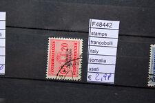 FRANCOBOLLI STAMPS ITALY SOMALIA USATI (F48442)