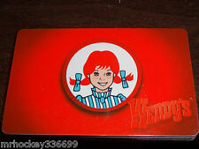 Wendy's Classic WENDY collectible gift card (no cash value)