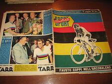LO SPORT ILLUSTRATO GAZZETTA 1953/36 FAUSTO COPPI CAMPIONE MONDIALE + POSTER !!!