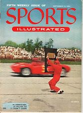 1954 9/13 Sports Illustrated magazine, Grand Prix Auto Racing, 5th Weekly Issue!