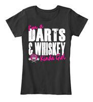 Im A Darts And Whiskey Kinda Girl - I'm &whiskey Women's Premium Tee T-Shirt