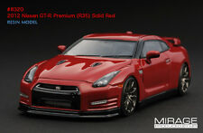 HPI RESIN #8320 2012 Nissan GT-R Premium R35 SOLID RED SCMC