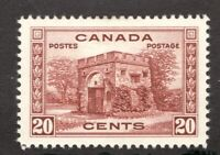 #243 - Canada - 1938 - 20 Cent stamp - MH  - VF - superfleas