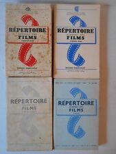 Répertoire général des films de 1954 à 1958 .