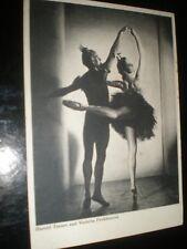 More details for old postcard ballet harold turner violetta prokhorova used 1948