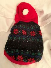 Top Paw Dog  Winter Fleece Sweater Coat Hoodie Sz Med. New With Tags Nwt