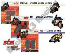 SBS Hs Travertino Road Delanteras Pastillas De Freno Moto Guzzi Griso 850 1100 1200 8V 10-15