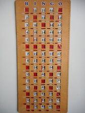 BINGO MASTERBOARD SLIDE CARD WITH NUMBERS 1-75