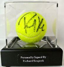 Richard Krajicek Signed Autograph Tennis Ball Luxury Display Case Sport & COA