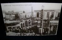 DAMAS Damascus,Syria Vue du Bazar des Chevaux apres l'incendie Photo Postcard