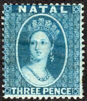 South Africa Natal 1859 blue 3d perf14 no watermark mint SG10