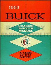 1962 Buick LeSabre Invicta Electra 225 Shop Manual ORIGINAL Repair Service Book