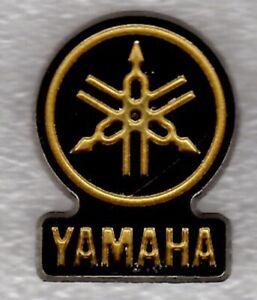 Yamaha pin badge. Motorcycle. Biker. Metal. Enamel