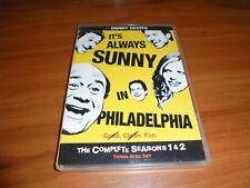 Its Always Sunny in Philadelphia - Seasons 1 & 2 (DVD, 2009, 3-Disc) Used
