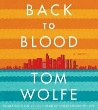 Back to Blood by Tom Wolfe (2012, CD, Unabridged)