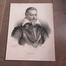 grande gravure de  CRILLON GRAVURE 19ème SIECLE