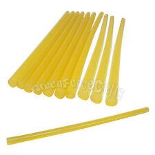 10 pcs 11x270mm Hot Melt Glue Stick For Glue Gun Craft Repair Yellow US Stock