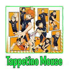 Haikyuu!! Shoyo Hinata Tobio Kageyama Tappetino Mouse Pad Pc Anime Manga