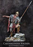 Resin 1/24 75mm Carthaginian soldier Figure Model Unpainted Garage Kits Statue