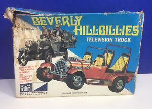 1968 Vibtage Beverly Hillbillies Television Truck Plastic Model Kit MPC