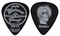 WARRANT Guitar Pick : 2015 Tour Garage Robert Mason face black