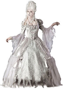 CORPSE COUNTESS ZOMBIE WOMENS COSTUME Victorian Wedding Gown Bride Halloween